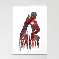 Hawkeye Print Stationery Cards