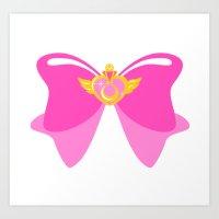 Sailor Moon Prism 1 Art Print