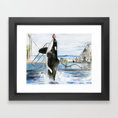 Marine Star Framed Art Print