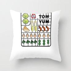Tom Yum Assembly Kit Throw Pillow