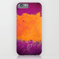 iPhone & iPod Case featuring orange & purple by Iris Lehnhardt