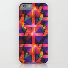 Abstract blocks pattern 2 Slim Case iPhone 6s