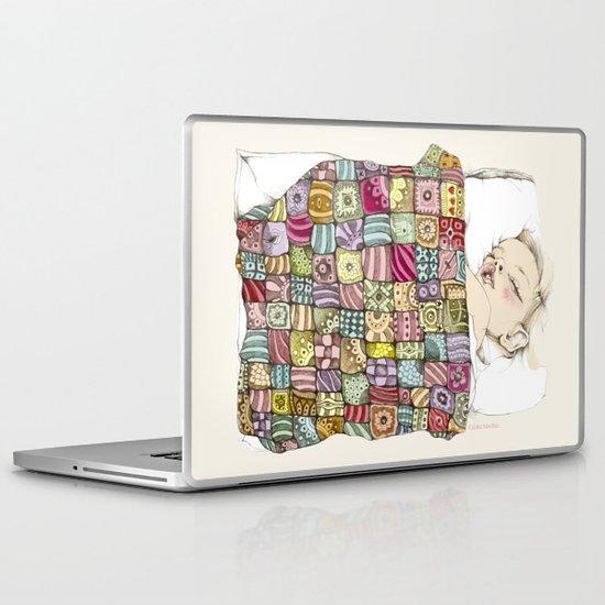 sleeping child Laptop & iPad Skin