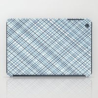 Weave 45 Blues iPad Case