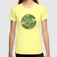 Tranquil Womens Fitted Tee Lemon SMALL