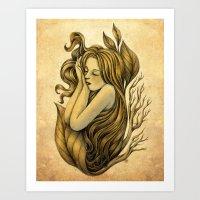 Little Rhizome Art Print