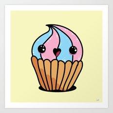Cupcake series - 3 Art Print