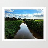 Rio Grande De Añasco @ … Art Print