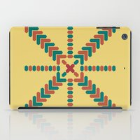 X Marks The Center iPad Case