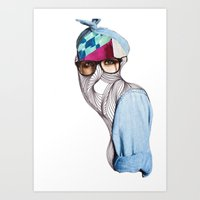 Wrap Up Art Print