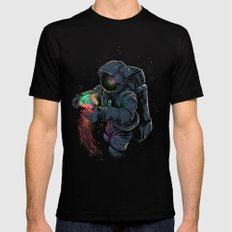 Jellyspace Mens Fitted Tee Black SMALL