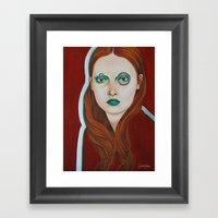 Close Up 10 Framed Art Print
