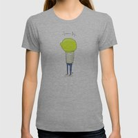 Lemon Boy Womens Fitted Tee Athletic Grey SMALL