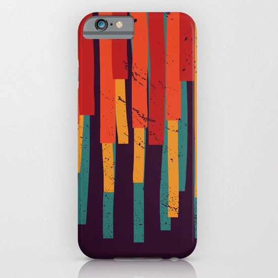 Squared Stripes iPhone & iPod Case