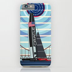 Never Give Up ! Oracle Team USA America's Cup Slim Case iPhone 6s