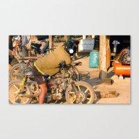 Mechanics Canvas Print