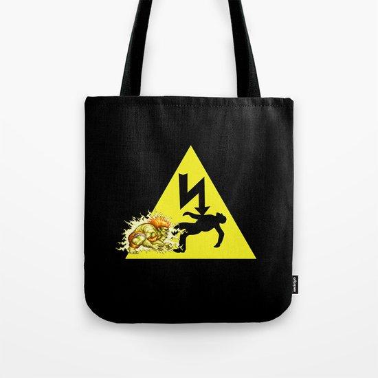 Danger of death Tote Bag