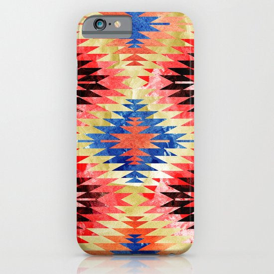 Painted Navajo Suns iPhone & iPod Case