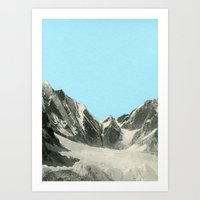 Blue Skies Art Print