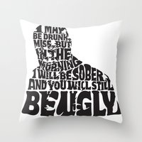Best Churchill Quote Eve… Throw Pillow
