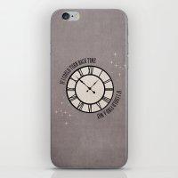 If I Could Turn Back Time... iPhone & iPod Skin