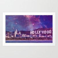Hipsterland - Los Angeles Art Print