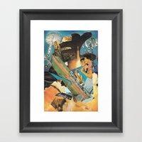 Arsicollage_3 Framed Art Print