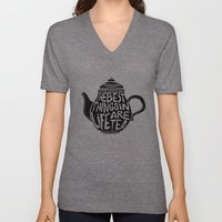 Best Things In Life Are … Unisex V-Neck