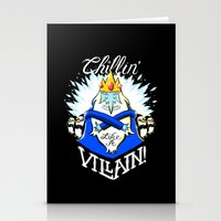 Chillin' Like A Villain Stationery Cards