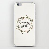 Awake My Soul (Square) iPhone & iPod Skin