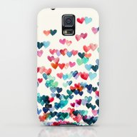 Heart Connections - Wate… Galaxy S5 Slim Case