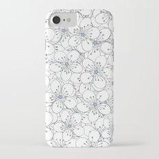 Cherry Blossom Blue - In Memory of Mackenzie Slim Case iPhone 7