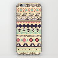 iPhone & iPod Skin featuring Aztec Pattern 02 by BlueLela