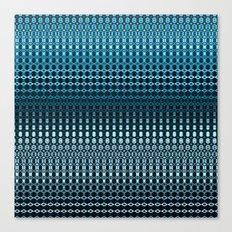 Oscillating Ocean Pattern Canvas Print