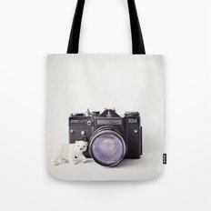 The Polar Bear and The Zenit Tote Bag