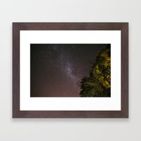 One night Framed Art Print