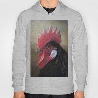 Black Rooster Hoody