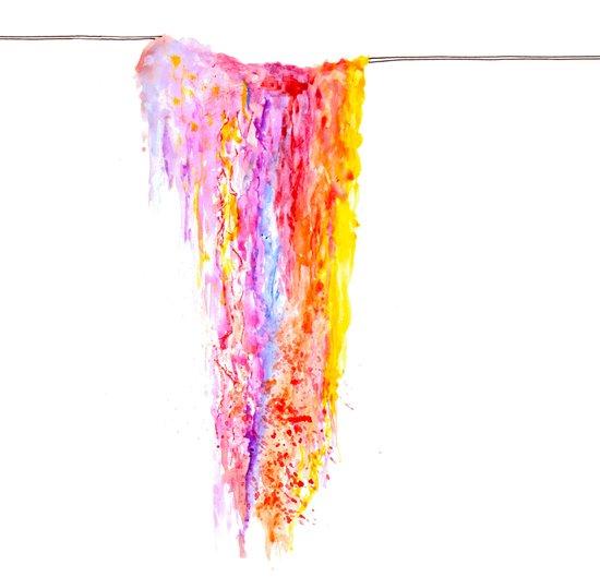 Colourwash Art Print