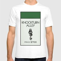 Knockturn Alley Monopoly… Mens Fitted Tee White SMALL