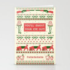 A Christmas Sweater Stationery Cards