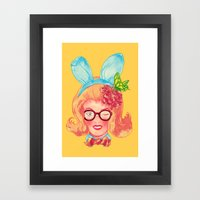 Lapin Belle Framed Art Print