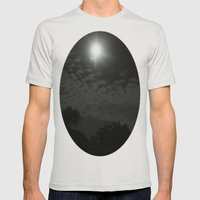 Moonbeaming Mens Fitted Tee Silver SMALL