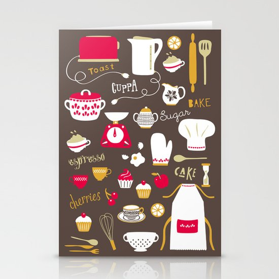 Teatime Treat Stationery Card