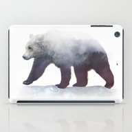 iPad Case featuring Wild Bear by Cafelab