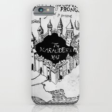Marauders Map iPhone 6 Slim Case