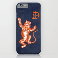 An Original Detroit Tiger's Logo (unofficial, of course) iPhone 6 Slim Case
