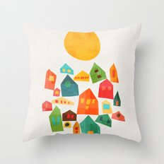 Looking At The Same Sun Throw Pillow