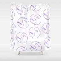 Rich / Boring Shower Curtain