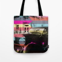 colorful confusion Tote Bag