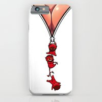 Hanging With The Devil iPhone 6 Slim Case